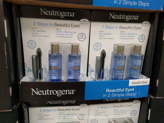 Neutrogena Oil-Free Eye Makeup Remover Set Costco 2