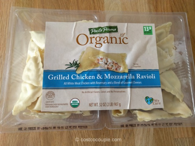 Pasta Prima Organic Chicken and Mozarella Ravioli Costco 2