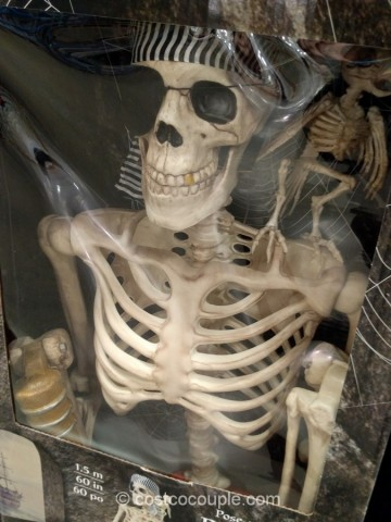 Pose-n-Stay Pirate Skeleton Costco 2