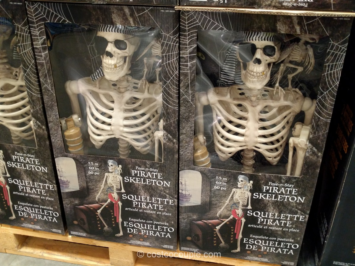 Pose-n-Stay Pirate Skeleton Costco 4