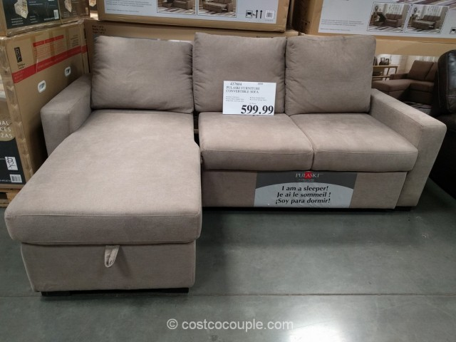 Pulaski Convertible Sofa Chaise Costco 4