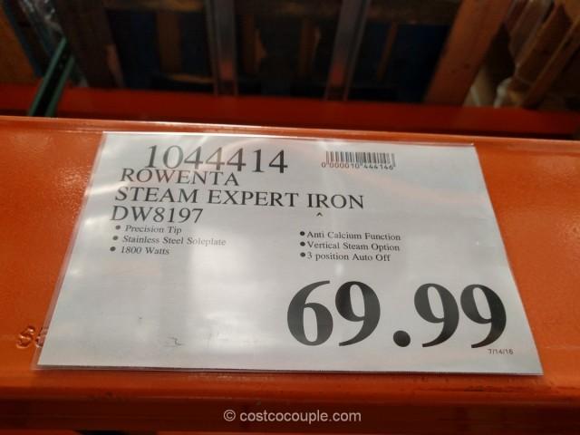 Rowenta Steam Expert Iron Costco 1