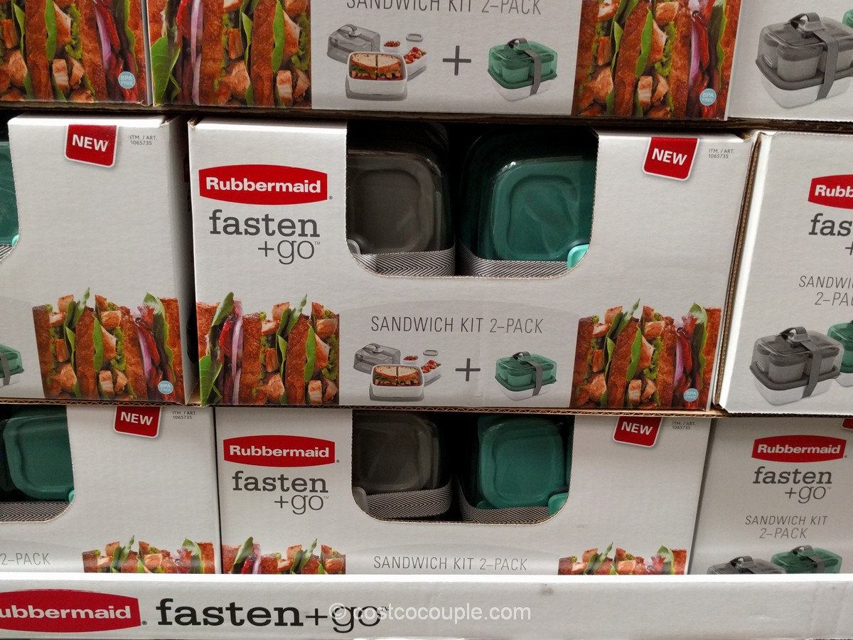 Rubbermaid Fasten and Go Sandwich Kit Costco 4