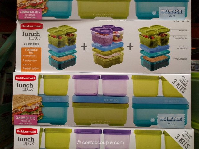 Rubbermaid Lunch Blox Kit Costco 2