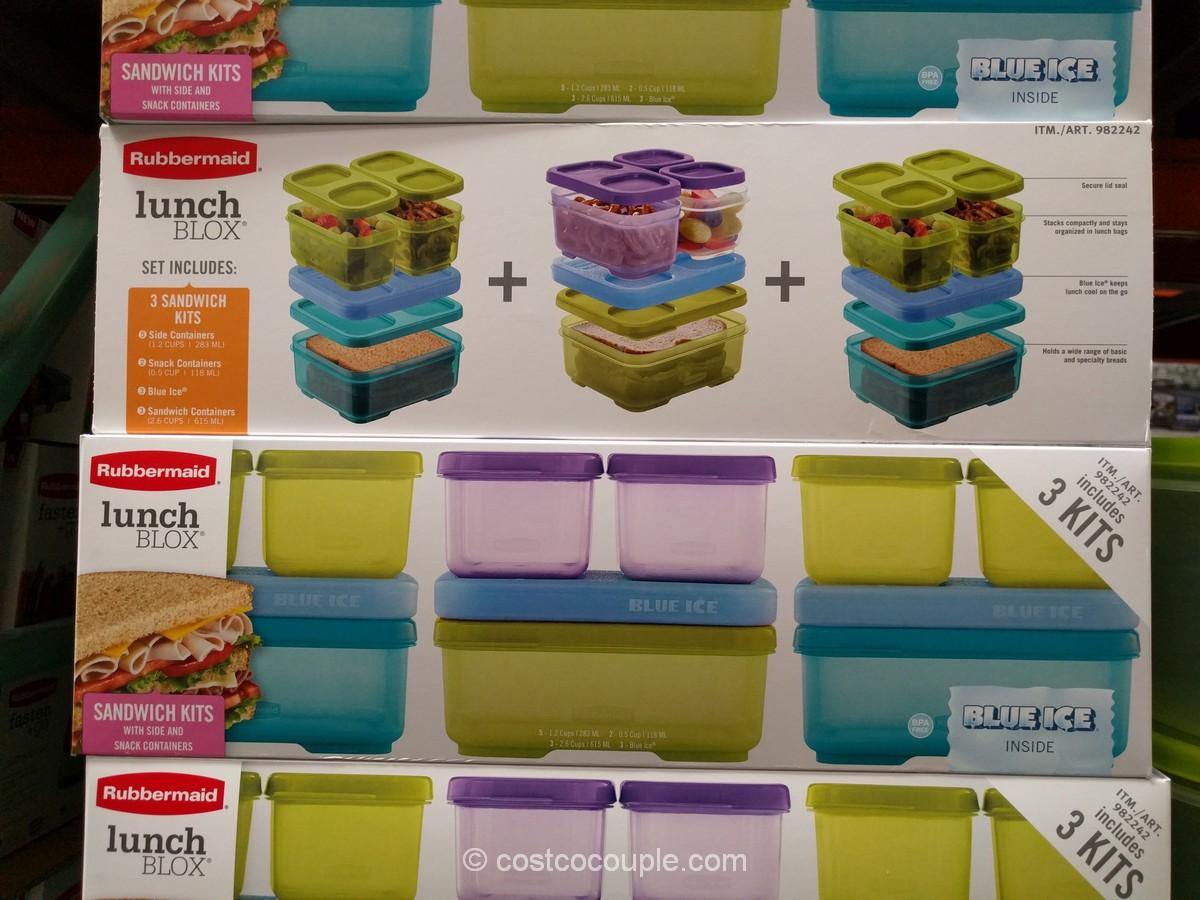 Rubbermaid Lunch Blox Kit Costco 2