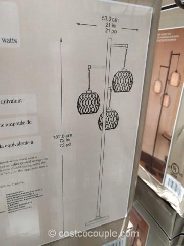 Stylecraft 3-Light Floor Lamp Costco 8