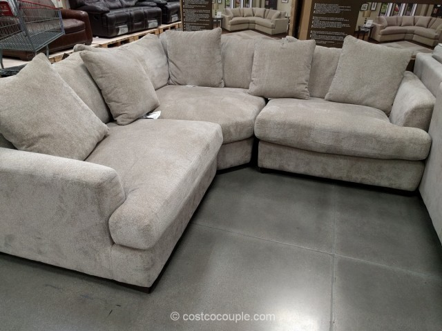 Synergy Home 3-Piece Fabric Sectional Costco 2