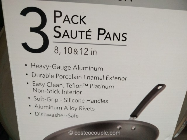 Tramontina 3-Pack Saute Pans Costco 3