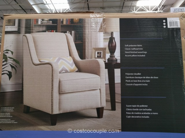 True Innovations Fabric Accent Chair Costco 5