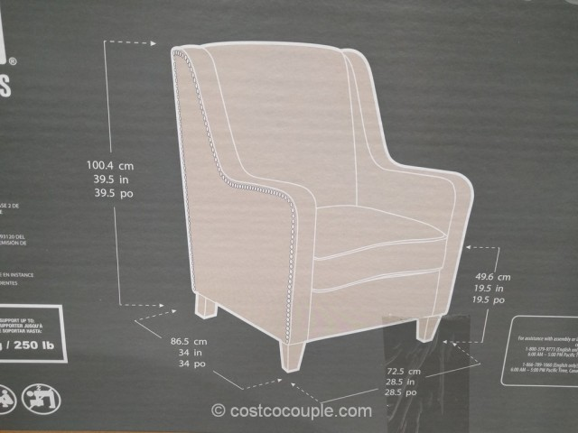 True Innovations Fabric Accent Chair Costco 6