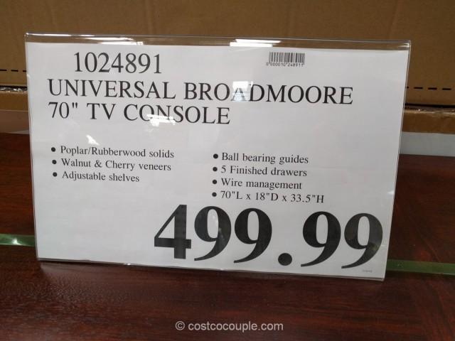 Universal Broadmore TV Console Costco 1