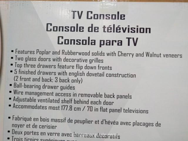 Universal Broadmoore TV Console Costco 2