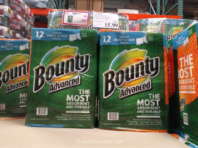 Bounty Advanced Select-A-Size Paper Towels Costco 2
