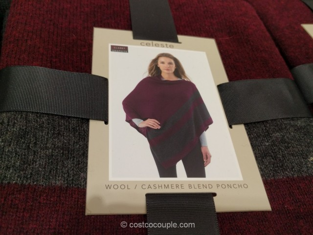 Celeste Ladies Sweater Poncho Costco 2