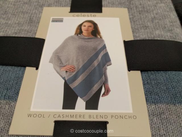 Celeste Ladies Sweater Poncho Costco 3