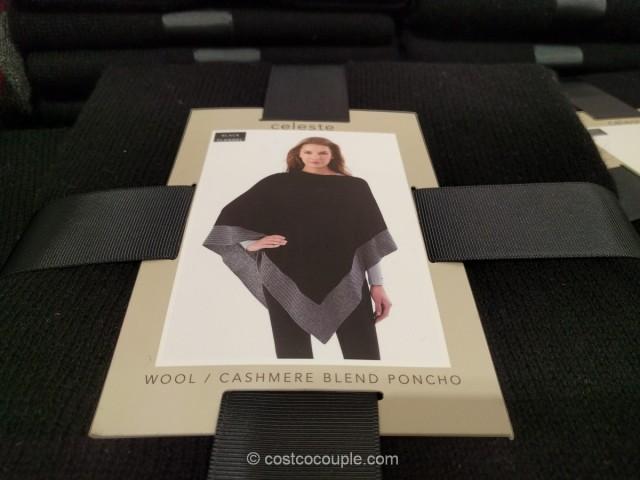 Celeste Ladies Sweater Poncho Costco 7