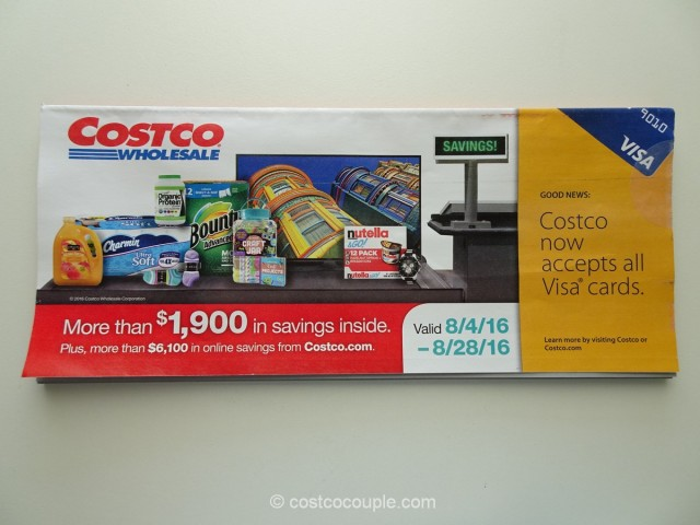 Costco August 2016 Coupon Book 1