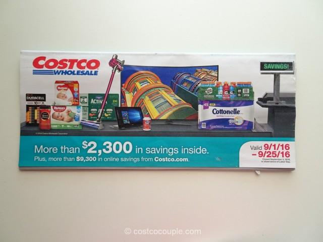 Costco September 2016 Coupon Book 1