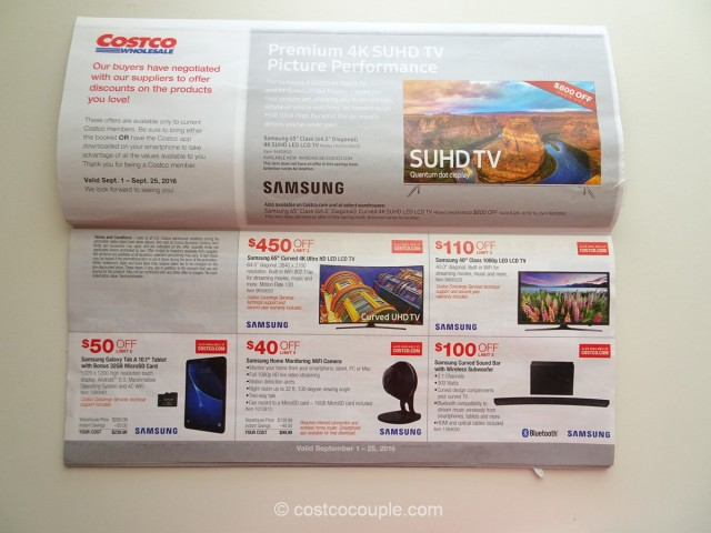 Costco September 2016 Coupon Book 2