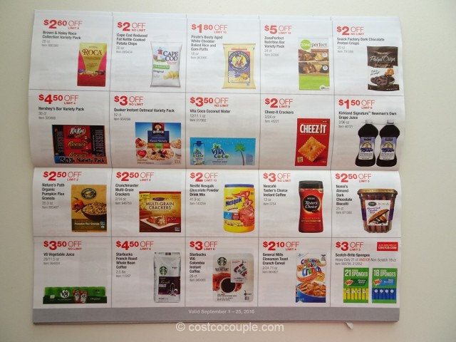 Costco September 2016 Coupon Book 5
