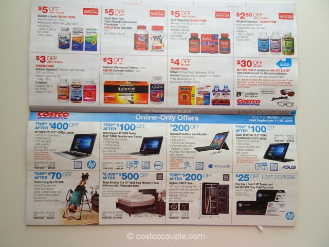 Costco September 2016 Coupon Book 9