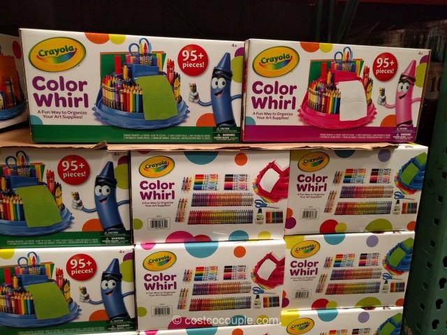 crayola color whirl caddy set