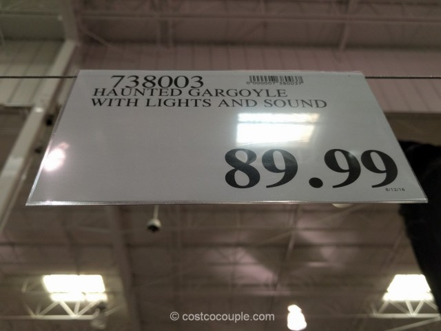 Haunted Gargoyle Costco 1