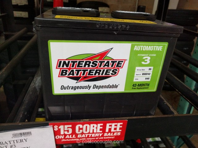 Interstate Car Battery Costco 2
