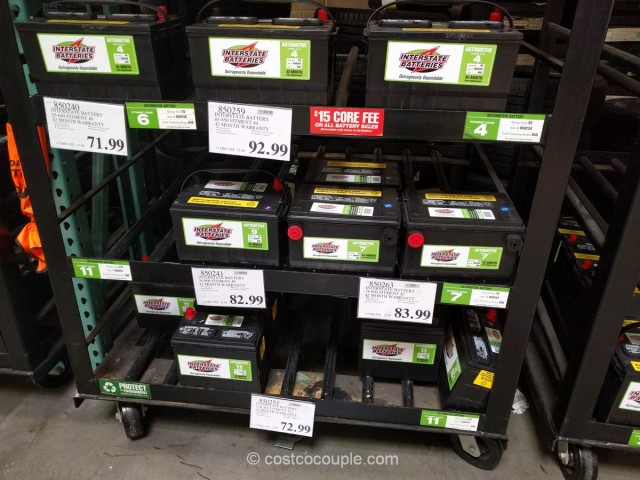 Prices On Interstate Car Batteries