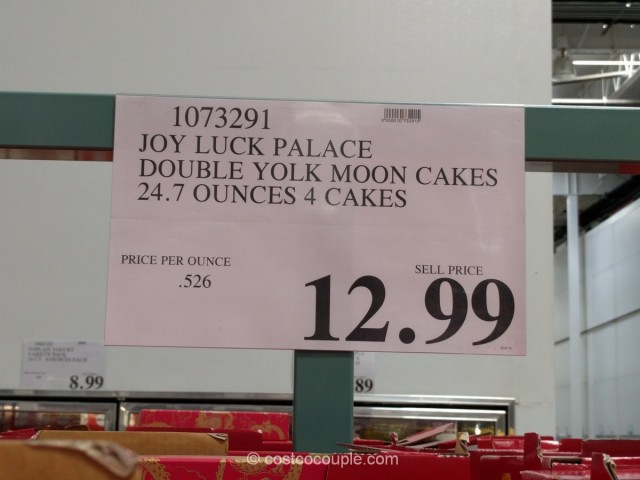 Joy Luck Palace Double Yolk Moon Cakes Costco 1