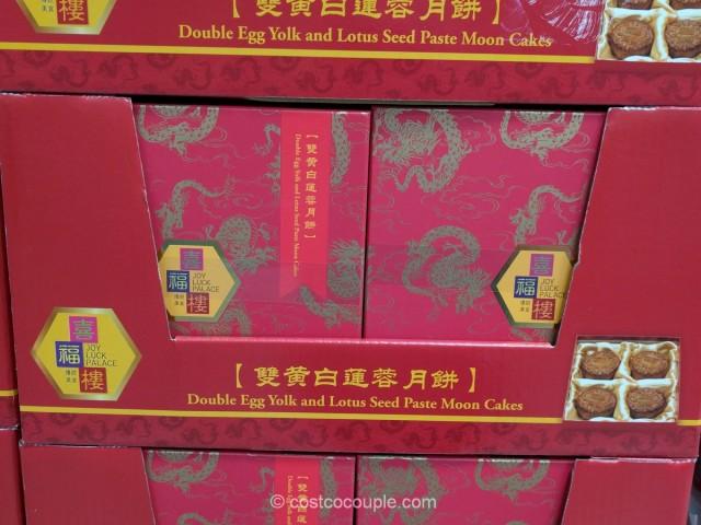 Joy Luck Palace Double Yolk Moon Cakes Costco 2