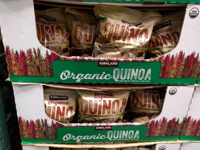 Kirkland Signature Organic Quinoa Costco 1