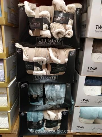 Life Comfort Ultimate Sherpa Throw Stunning Soft Throw Blanket Costco