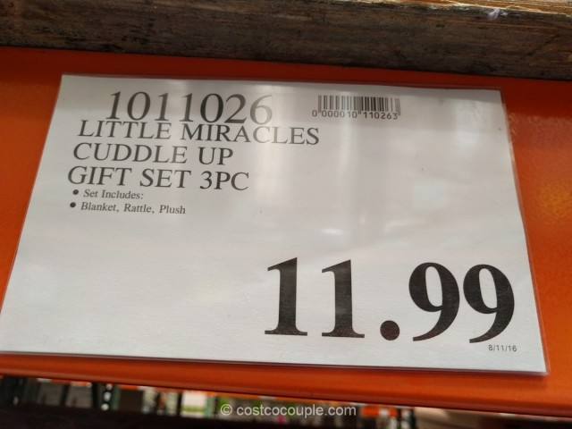 Little Miracles Cuddle Up Gift Set Costco 1