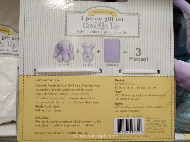 Little Miracles Cuddle Up Gift Set Costco 7