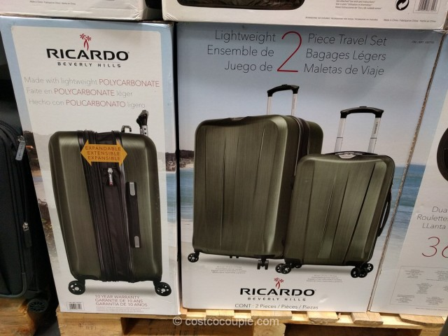 Ricardo Beverly Hills 2-Piece Spinner Set Costco 5