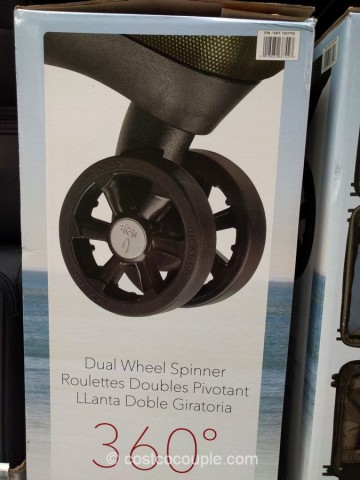 Ricardo Beverly Hills 2-Piece Spinner Set Costco 6