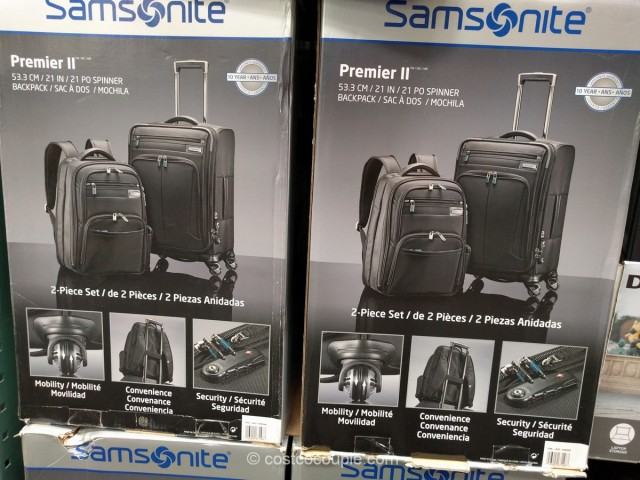 Samsonite Premier II Luggage Set Costco 2