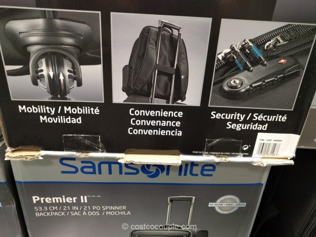 Samsonite Premier II Luggage Set Costco 3