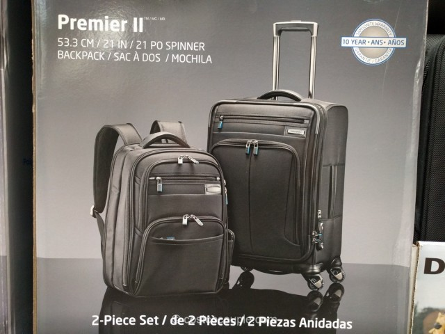 Samsonite Premier II Luggage Set Costco 4