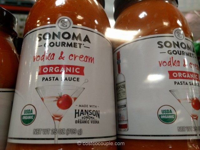 Sonoma Gourmet Organic Vodka and Cream Sauce Costco 3
