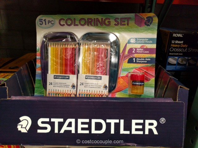 Staedtler Coloring Set Costco 2