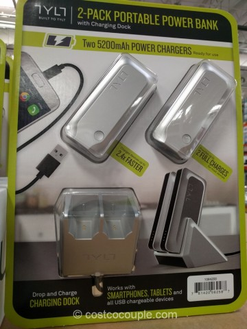Tylt Portable Power Bank Costco 2