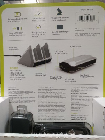 Tylt Portable Power Bank Costco 3