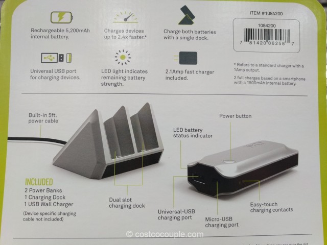 Tylt Portable Power Bank Costco 4