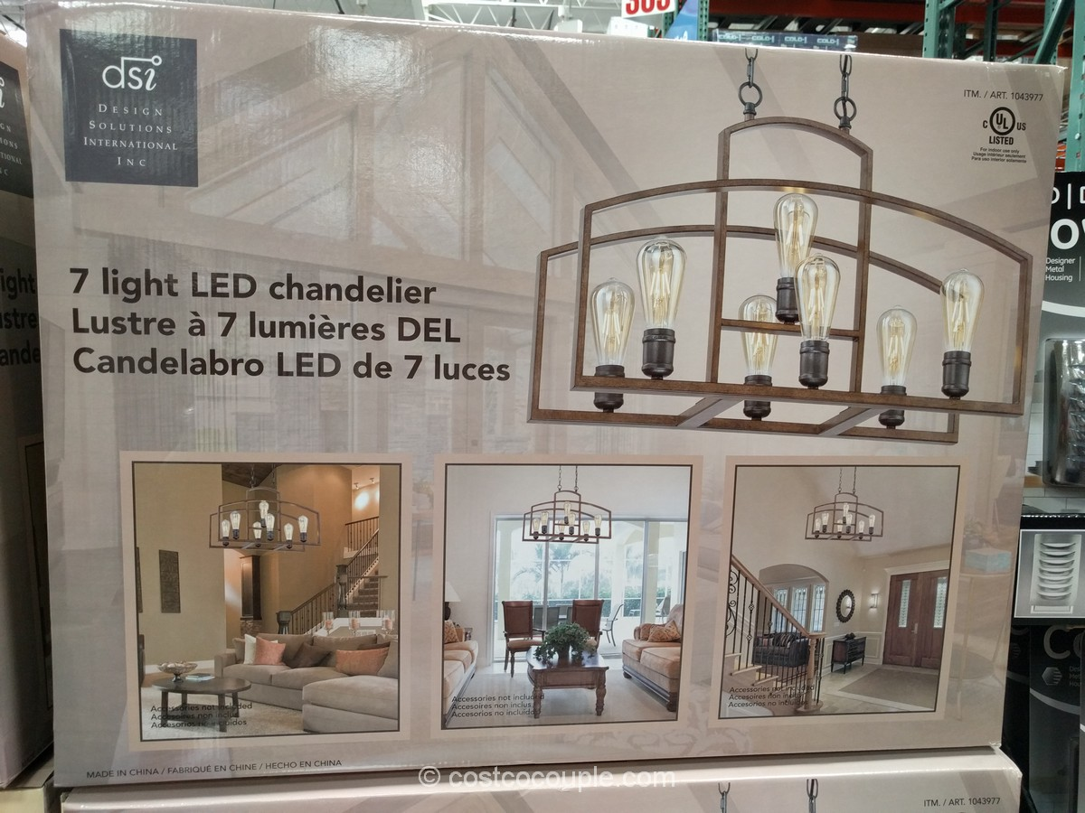 Bathroom Light Fixtures Costco bathroom light fixtures costco. dsi 7light led chandelier. . manor
