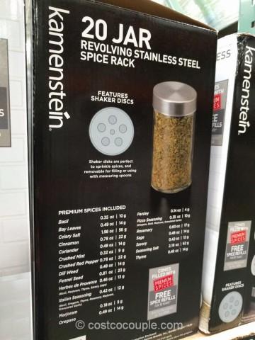 kamenstein-20-jar-spice-rack-costco-4