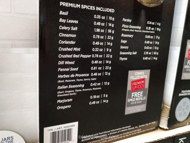 Kamenstein 20 Jar Spice Rack