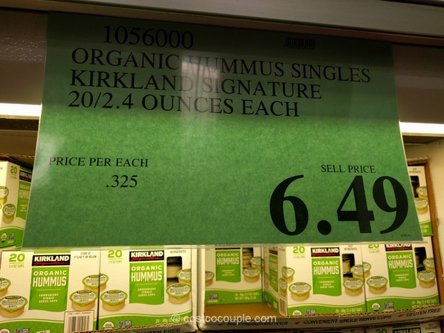 Kirkland Signature Organic Hummus