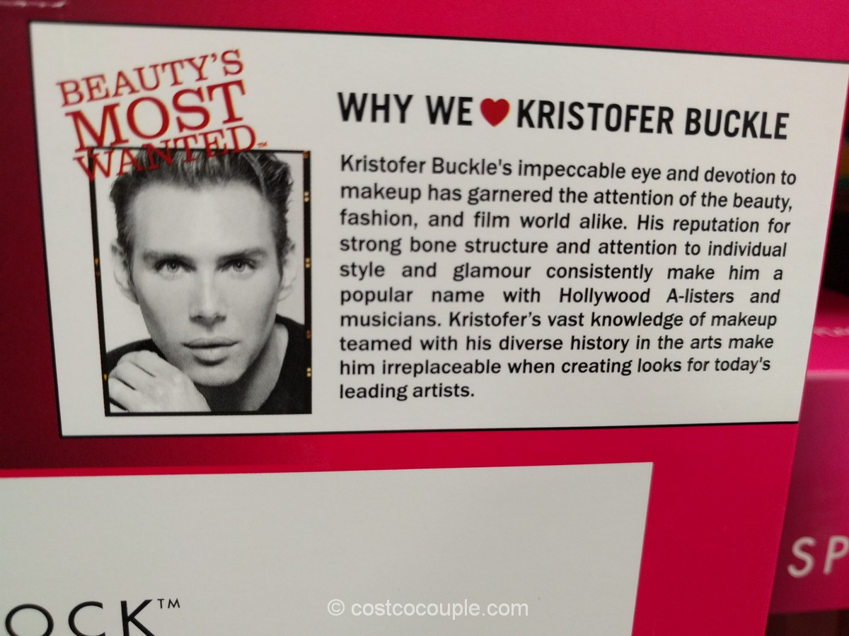 Kristofer buckle makeup